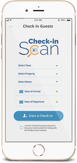 Check-in Scan, your guests' registration app