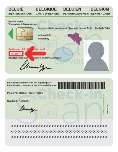 Belgium ID