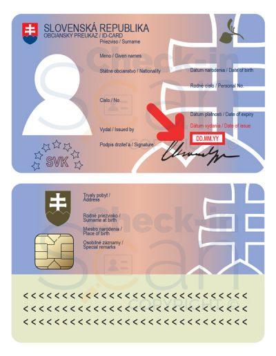 Slovakia ID